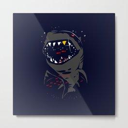 Monster Shark Metal Print