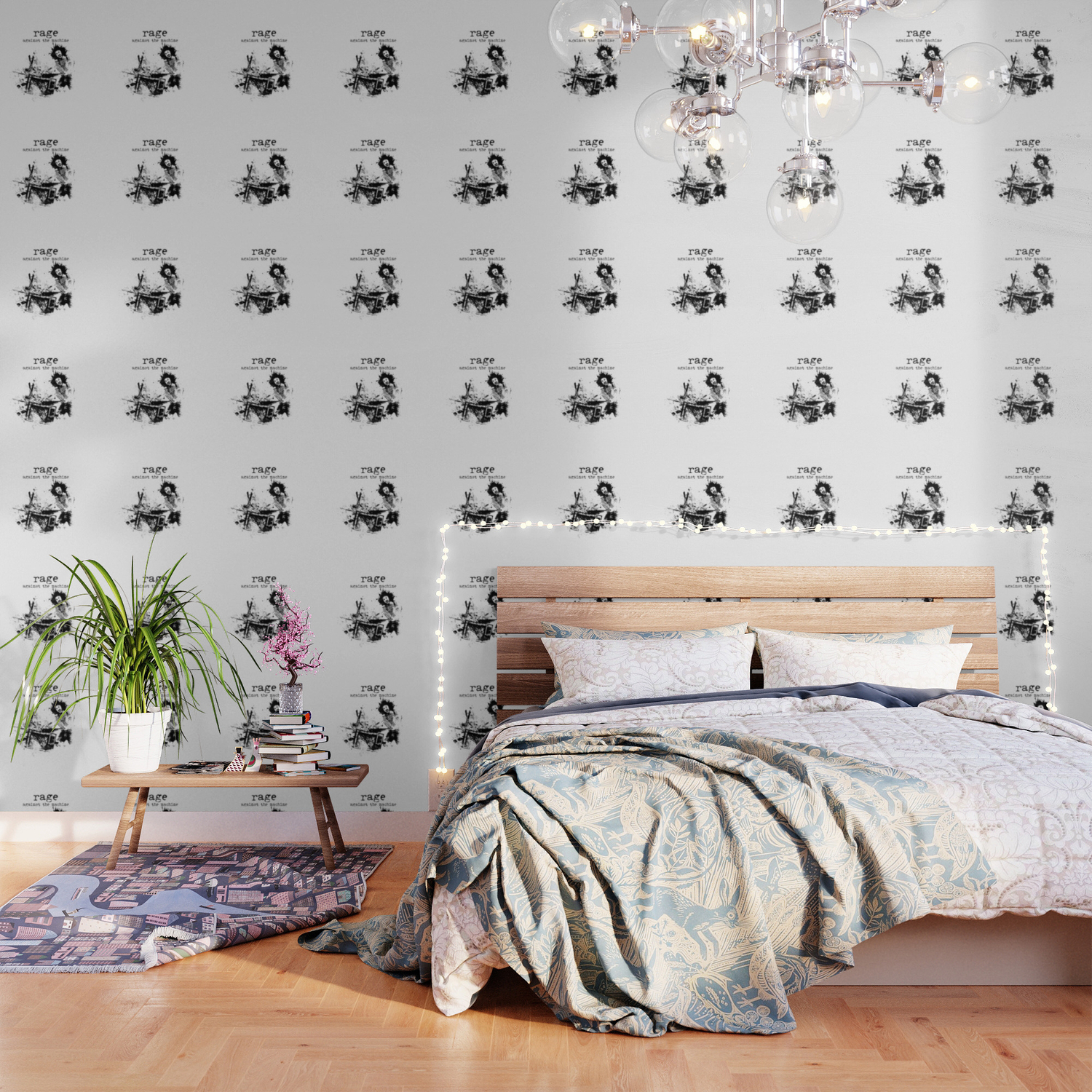 Rage Against The Machine Wallpaper By Vivalarevolucion Society6