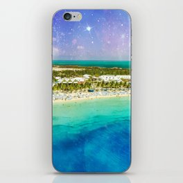 Cosmic Tropics iPhone Skin