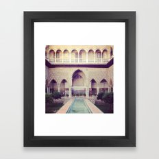 Real Alcazar Framed Art Print