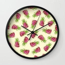 Dragon Fruits Wall Clock