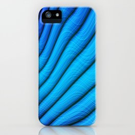 Spectral Waves iPhone Case