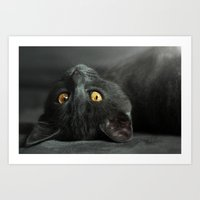 magritte Art Prints featuring Magritte by Ark.Us.