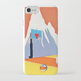 Goat in court iPhone Case