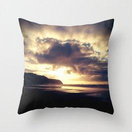 The Sea Gate  Throw Pillow