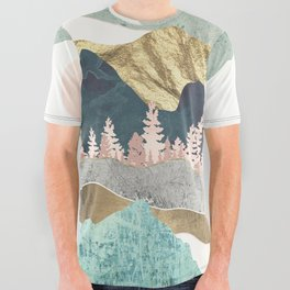Summer Vista All Over Graphic Tee