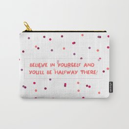 Thoughtful Dots Carry-All Pouch