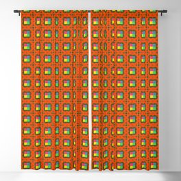 Brouhaha Pattern Blackout Curtain