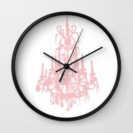 Crystal fading Wall Clock