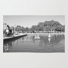 The Boating Pond 2 Rug