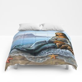 Monalisa Mermaid Comforters