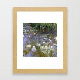 """Claude Monet """"Water lilies""""(2) Framed Art Print"""