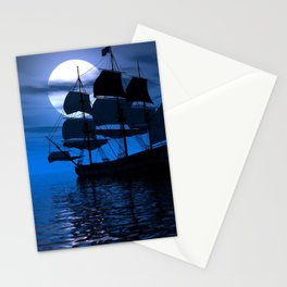 Sailing Ship Stationery Cards