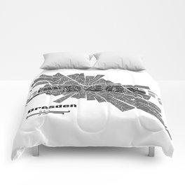 Dresden Map Comforters
