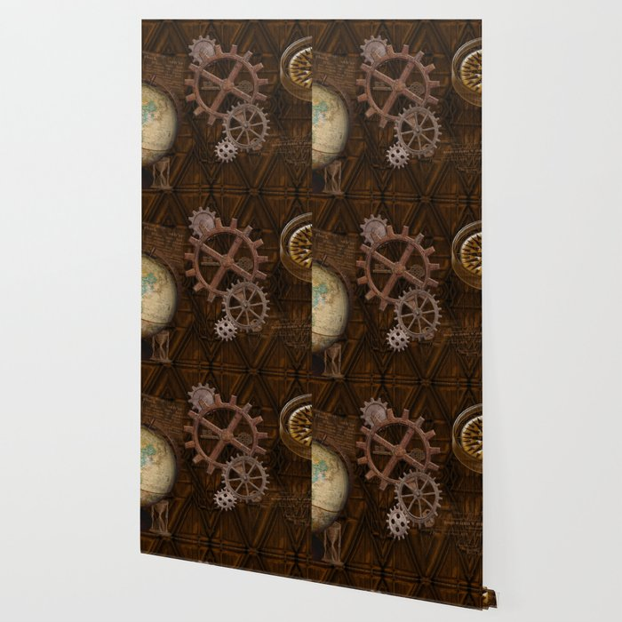 Comforts of Steampunk Wallpaper