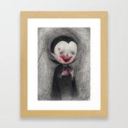 First Bite Framed Art Print