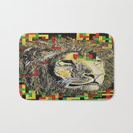 Lion In Zion Bath Mat
