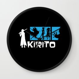 Kirito Wall Clock