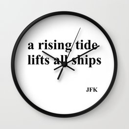 Rising Tide Wall Clock
