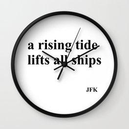 Rising Tide Wall Clock