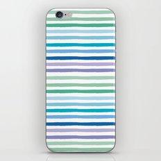 Lilypad Stripes iPhone Skin