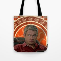Living with Sherlock Holmes Tote Bag