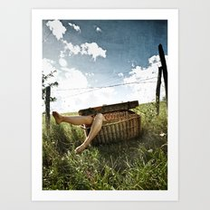 Cannibal pic-nic Art Print
