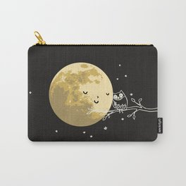 Owl and Moon Tasche