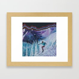Electric Feel Framed Art Print