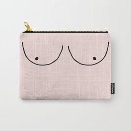 blush boobs Carry-All Pouch