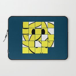 Acid Smiley Shuffle Puzzle Laptop Sleeve