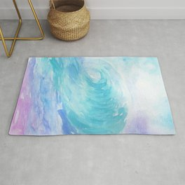 Ombre Wave Rug