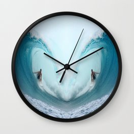 Love of the Surf Wall Clock