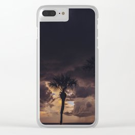 Ocean Storm Clear iPhone Case