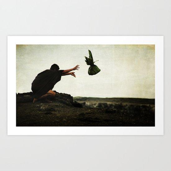 offering. Art Print