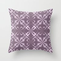 calligraphy Throw Pillows featuring Calligraphy by David Zydd