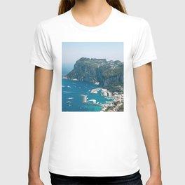 Italy, Capri Landscape View T-shirt