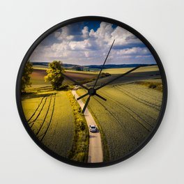 Success is a lonely road Wall Clock