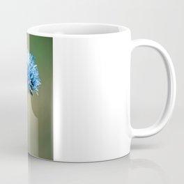 Blue Cotton Coffee Mug