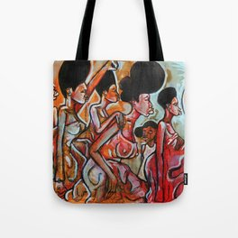 2017 My Sisters Freedom Story art by Marcellous Lovelace Tote Bag