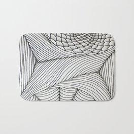 Web Art Bath Mat