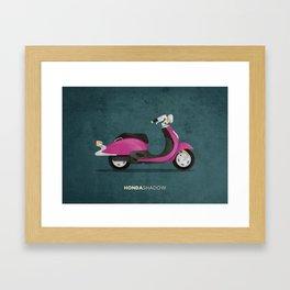 Honda Shadow Framed Art Print