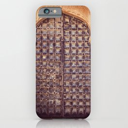 Doors Of Rajasthan 4 iPhone Case