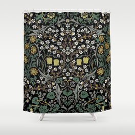 William Morris Blackthorn Shower Curtain