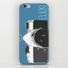 Click! - camera iPhone & iPod Skin
