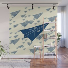 Paper Airplane 11 Wall Mural