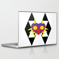 majora Laptop & iPad Skins featuring Minimalist Majora by Bradley Bailey