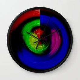 Lollipop Swirl Wall Clock