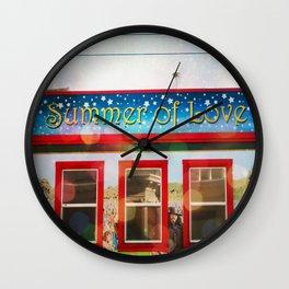 Summer of Love (1967) Wall Clock