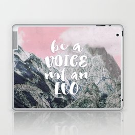 Be a voice not an eco Laptop & iPad Skin